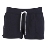 Under Armour Women's Favorite French Terry Shorty (Black)