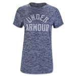 Under Armour Women's Tech Crew Twist T-Shirt (Navy)