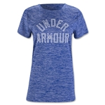 Under Armour Women's Tech Crew Twist T-Shirt (Royal Blue)
