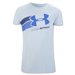 Under Armour Girls Fast Lane T-Shirt (Sky)