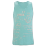 Under Armour Girls Dream Believe Repeat Tank (Green)