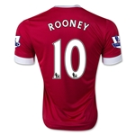 Manchester United 15/16 Wayne Rooney Home Soccer Jersey