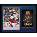 Barcelona 16x12 Messi Framed Poster
