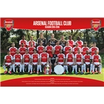 Arsenal 15/16 Roster Poster