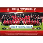 Liverpool 15/16 Roster Poster