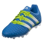 adidas Ace 16.1 FG/AG Junior (Shock Blue/White)