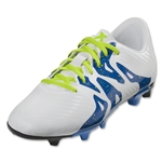 adidas X 15.3 FG/AG Junior (White/Black)