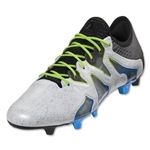 adidas X 15+ SL FG/AG (White/Black/Shock Blue)