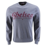 Chelsea Wordmark Logo Sweatshirt (Gray)