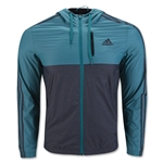 adidas Essential 3S Woven Jacket (Green)