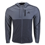 adidas Essential 3S Woven Jacket (Gray)