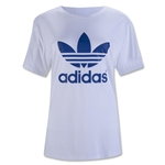 adidas Originals Women's Boyfriend Trefoil T-Shirt (White)