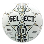 Select Numero 10 NFHS Ball (White/Gold)