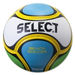 Select Beach Soccer Ball (White/Blue/Green)
