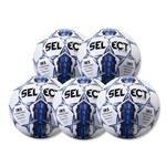 Select Royale 2016 Game Ball 5 Pack (White/Blue)