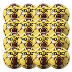 Select Club Ball 6 Pack (Yellow/Red)