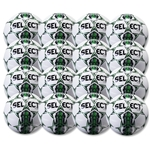Select Club Ball 6 Pack (White/Forest Green)