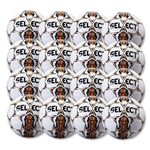 Select Club Ball 6 Pack (White/Orange)