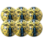 Select Team Game Ball 6 Pack (Yellow)