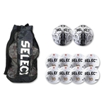 Select Numero Ball 10 Pack (White)