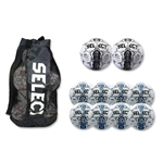 Select Numero Ball 10 Pack (White/Royal Blue)