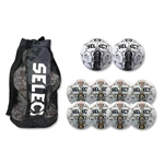 Select Numero Ball 10 Pack (White/Orange)