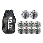Select Numero Ball 10 Pack (White/Red)