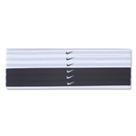 Nike Swoosh Sport Headbands Six Pack 2.0 (Black)