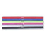 Nike Swoosh Sport Headbands Six Pack 2.0 (Red)