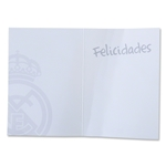 Real Madrid Greeting Card (White)
