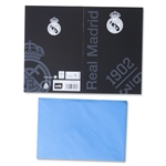 Real Madrid Greeting Card (Black)