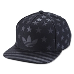 adidas Originals Americana Snapback Structured Cap (Black)