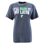 SGP Run It Off Later Women's T-Shirt (Dk Gray)