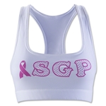 SGP Breast Cancer Sports Bra (White)