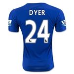 Leicester City 15/16 DYER Home Soccer Jersey