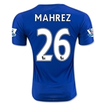 Leicester City 15/16 MAHREZ Home Soccer Jersey