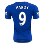 Leicester City 15/16 VARDY Home Soccer Jersey