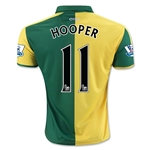 Norwich City 15/16 HOOPER Home Soccer Jersey