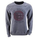Live Breathe Futbol Pitch Invader Sweater (Gray)