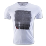 Live Breathe Futbol Eat Sleep Breathe Tee (White)