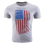Live Breathe Futbol One Nation Tee (Gray)