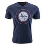 Live Breathe Futbol Skull T-Shirt (Navy)