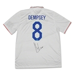 Clint Dempsey Signed Replica White Team USA Jersey