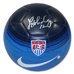 Lauren Holiday Signed Team USA Soccer Ball