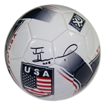 Tim Howard Signed Team USA Shield Soccer Ball w/ USA