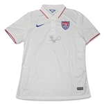 Tim Howard Signed USA White Collar USNT Jersey