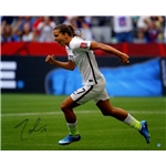 Tobin Heath Signed 2015 World Cup 16x20 Photo