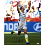 Carli Lloyd Signed 2015 World Cup Goal Celebration Photo