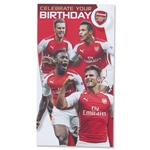 Arsenal Celebrate Your Birthday Card