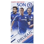 Chelsea Happy Birthday Son Card